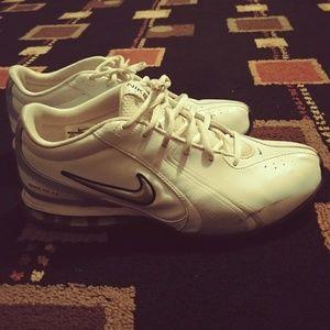 Men size 8.5 (Nike reax) running shoes